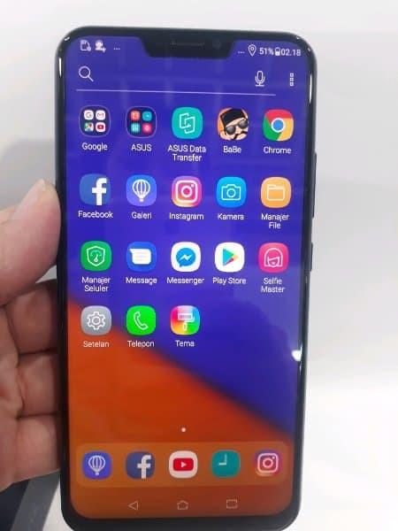 Hp Asus Zenfone 5 Second Midnight Blue 64gb