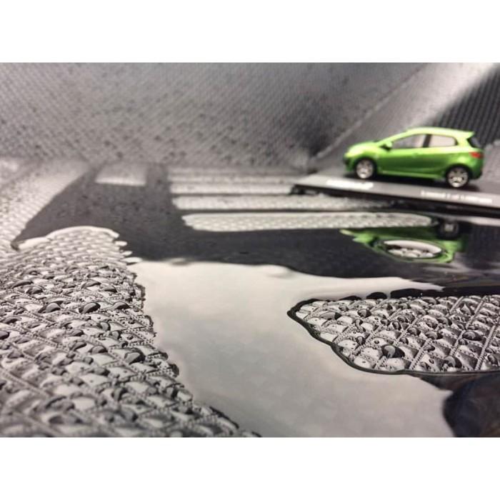 Karpet Mobil 3D Custom FRONTIER BLACK PREMIUM HONDA HRV 2014 - 2016