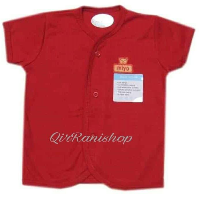 miyo red baju pendek sml - 12-18 Bulan