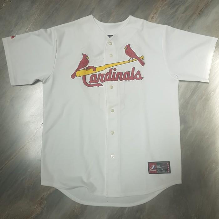 45b174e5b Jual Jersey Baseball Original Cardinals Pujols - Kota Surabaya ...