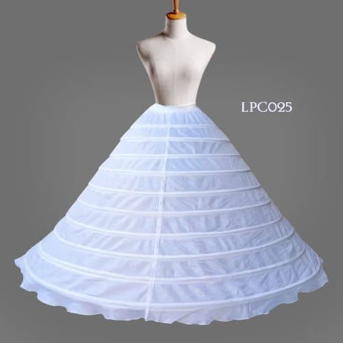 harga Petticoat super ball gown gaun wedding pengantin (10 hoop ring)-lpc025 Tokopedia.com