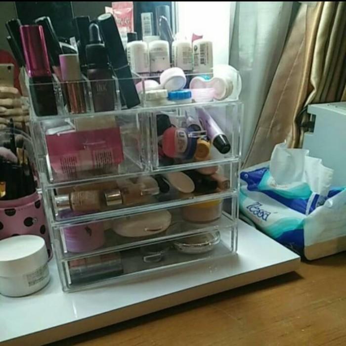harga Makeup acrylic organizer tipe (ksp) Tokopedia.com