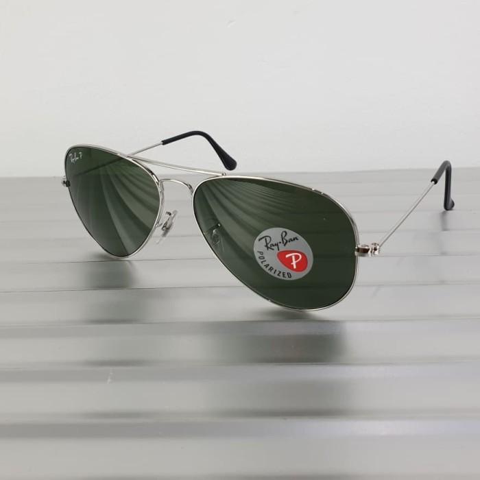 ... harga Kacamata original ray ban aviator 3025 003 58 polarized  Tokopedia.com 1f92216abb