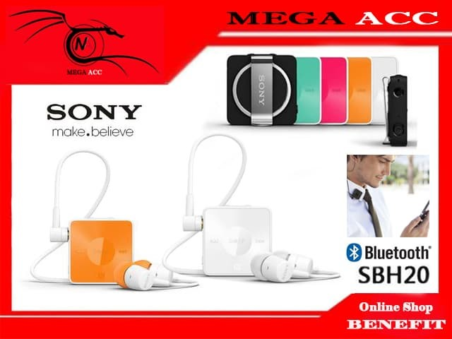 945b5761ac1 Jual SONY SBH-20 Stereo Bluetooth Headset - Mega Acc | Tokopedia