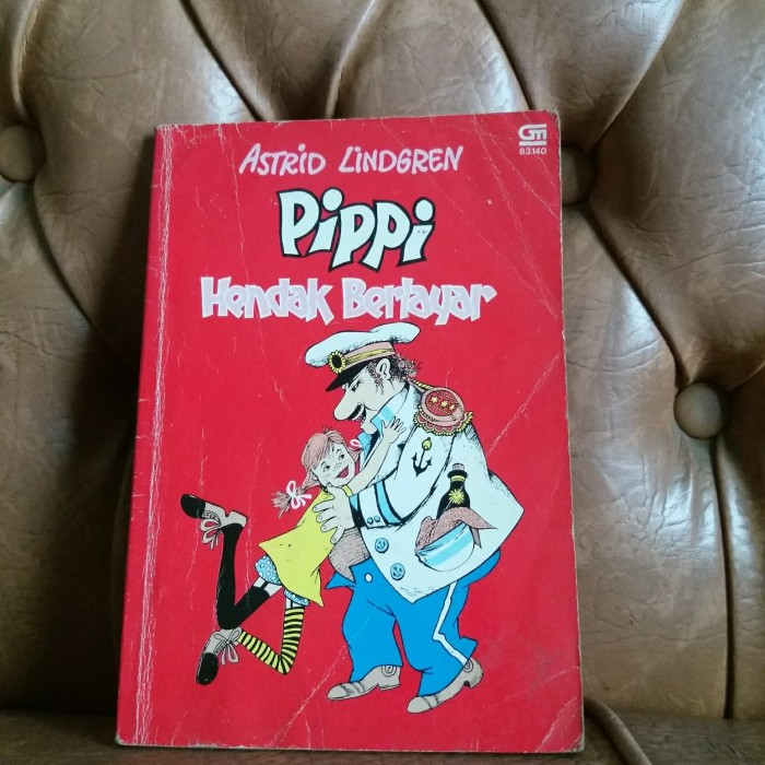 Foto Produk Pippi Hendak Berlayar oleh Astrid Lindgren dari Kenji Hatboy Store