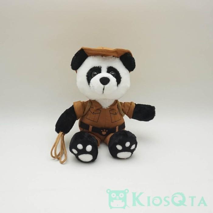 boneka panda kostum adventure indiana jones medium 84dda44c0c