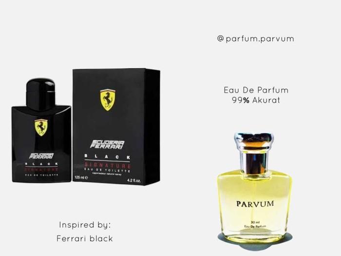 Jual Parfum Inspired By Ferrari Black Secsioria Shop Tokopedia