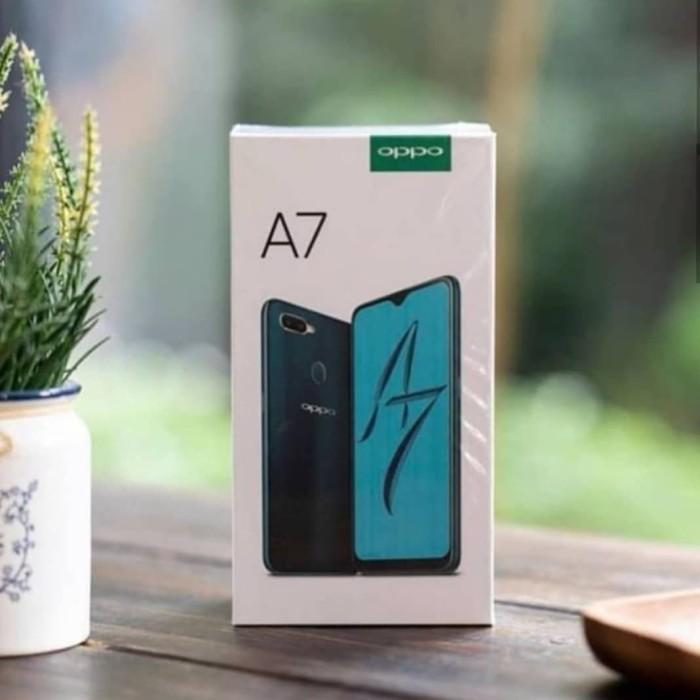 New : Oppo A7 2018 Ram 4/64Gb Garansi resmi 1tahun