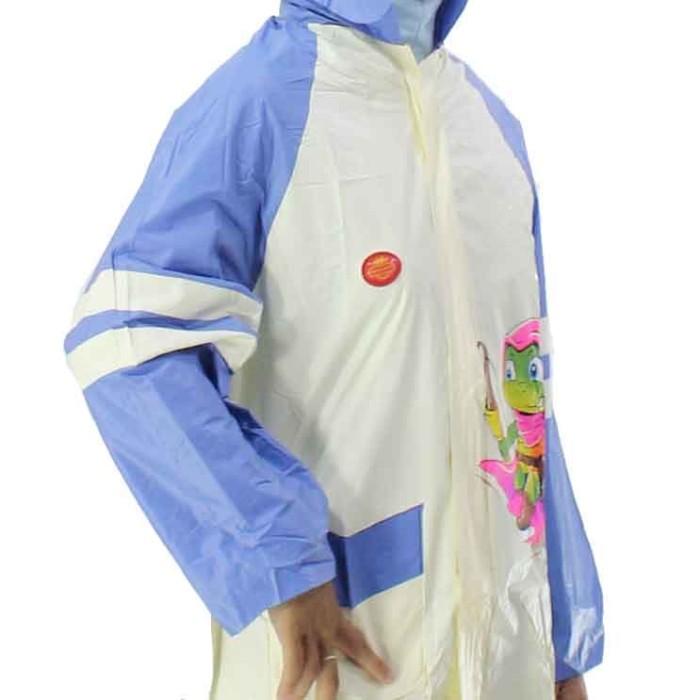 Setelan jas hujan star jaket celana remaja anak tanggung