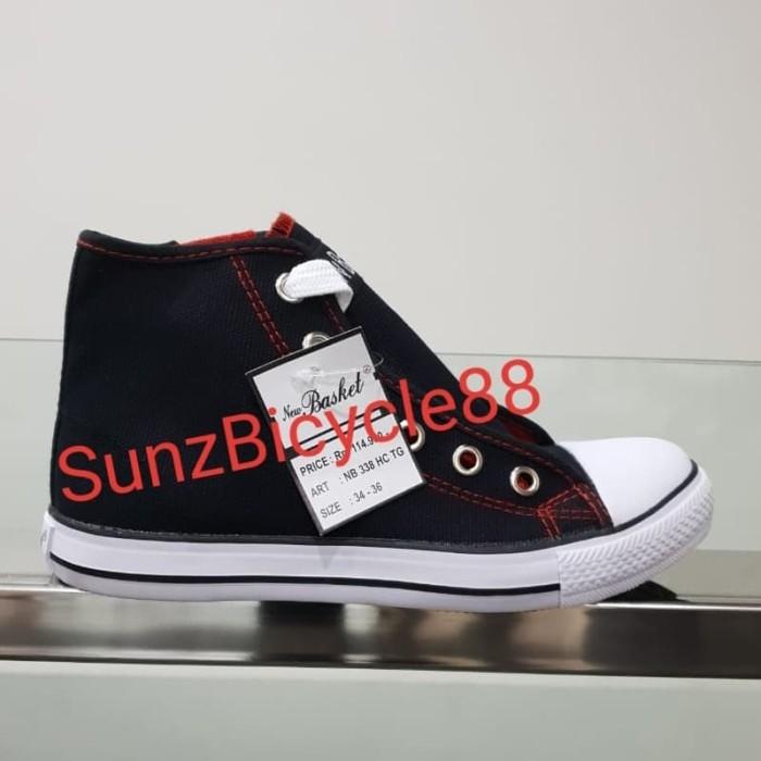 Foto Produk sepatu sekolah new basket hc tg dari SunZ Bicycle88