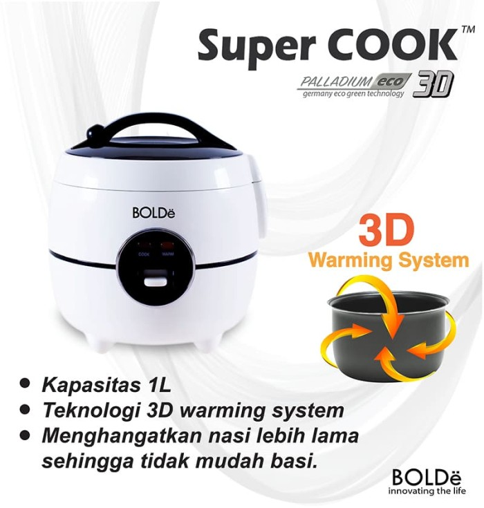 Super Cook 3d Palladium Eco - Blanja.com