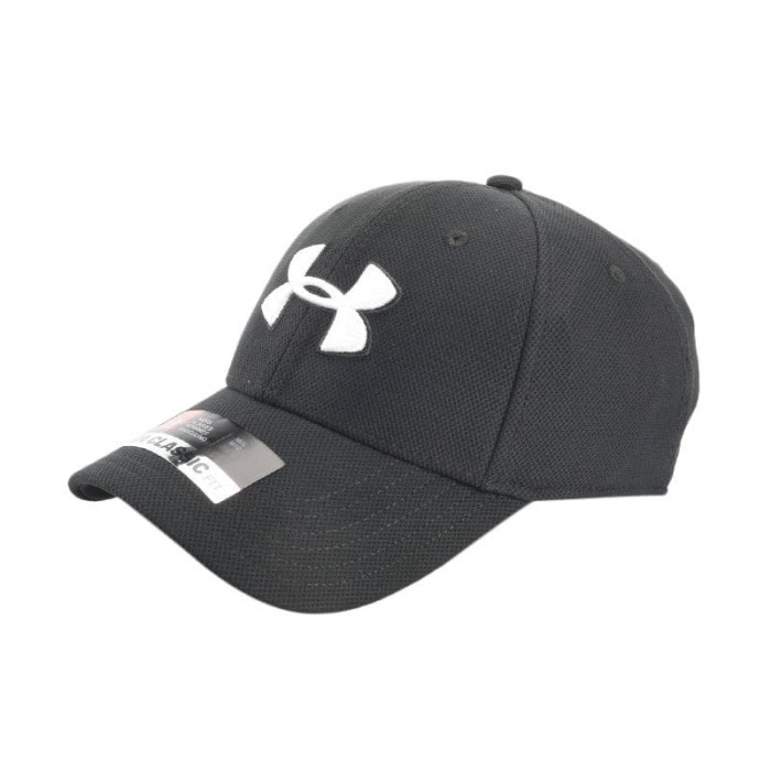 TOPI UNDER ARMOUR Training Blitzing 3.0 Mens Cap - Grey  1305036-001  e962f2fddd
