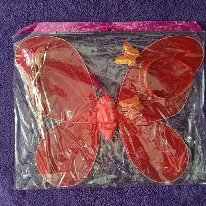 Foto Produk SAYAP PERI + TONGKAT + BANDO - MAINAN ANAK PEREMPUAN - BEAUTY ANGEL dari Grosir Murah Mainan