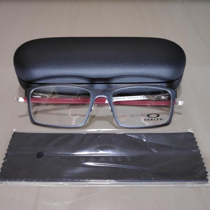 6fdfb0d2c9 Jual Kacamata Frame Oakley Steel Line S Original - Matte Black Ink ...