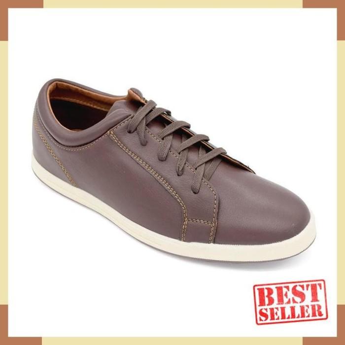 Jual Bata Sepatu Pria Ofoke Brown 8214108 Jakarta Pusat