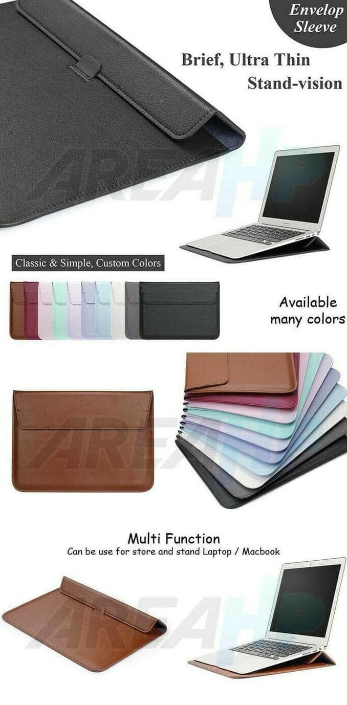 Hot Promo Sleeve Leather Macbook New Air 11 12 13 15 Pro Retina Touch