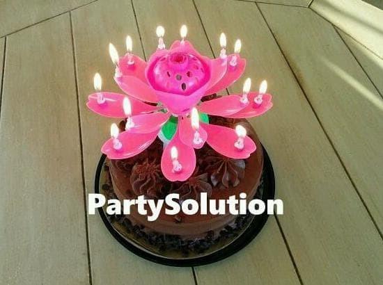 Dijual Lilin Ulang Tahun Lotus Lilin Teratai Kualitas Terbaik