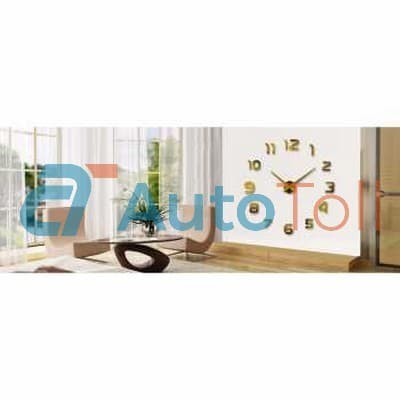 Jual Jam Dinding Raksasa Diy Dekorasi Ruang Tamu Diameter 80 130cm