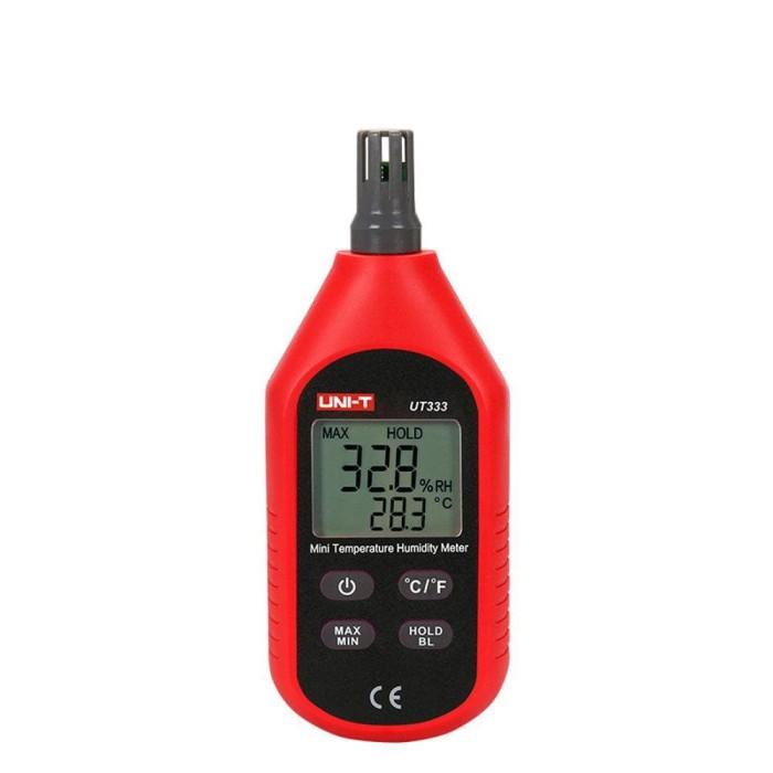 Digital Thermometer Hygrometer Alat Ukur Suhu Kelembaban Udara UT333