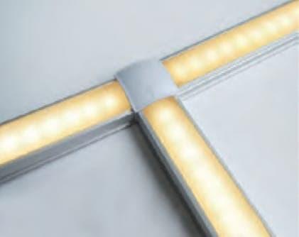 Home; Cabinet light Merk Lampu Kabinet untuk kitchen set nakas meja lemari - Putih