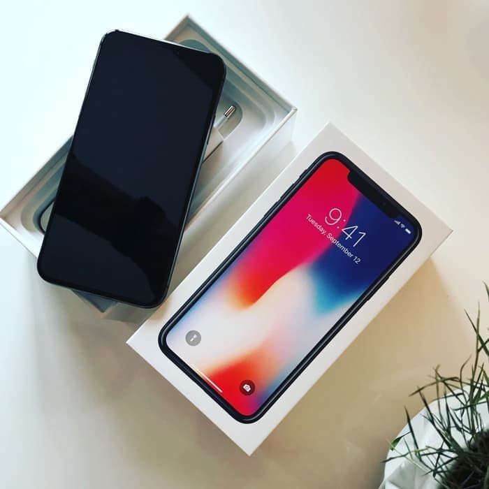 a4225c7e8566 Jual BARANG READY iphone x 64GB Grey   Silver Garansi International ...