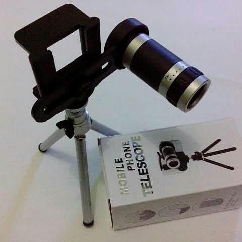 harga Telezoom telescope mobile phone 8x + tripod dan holder Tokopedia.com