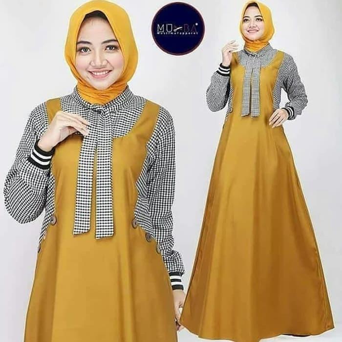 Jual Promo Baju Gamis Wanita Dress Muslim Excel Maxi Kab Bandung Reksa Boutique Tokopedia