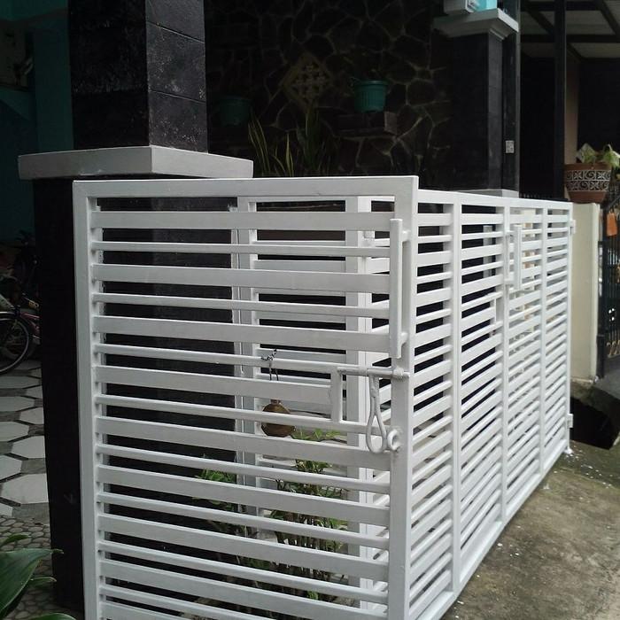 Jual Pagar Besi Minimalis Terbaru Kab Tangerang Mega Jaya Pratama Tokopedia