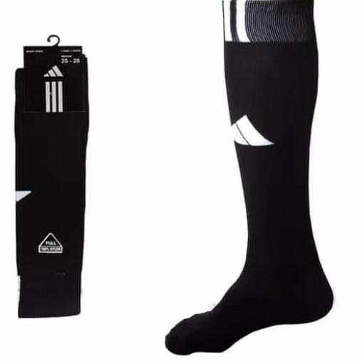 kaos kaki adidas hitam