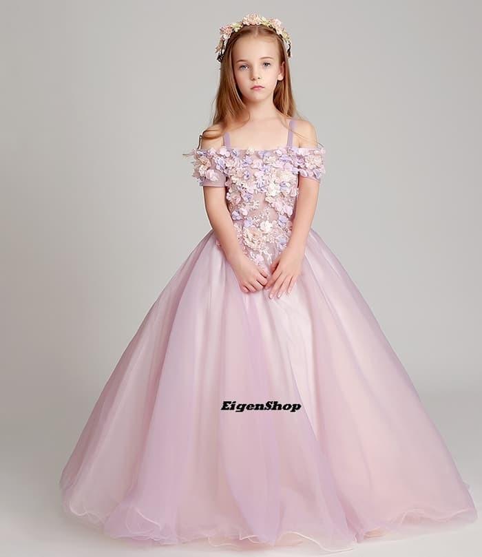 Jual A1612005 Gaun Pesta Anak Gaun Pengantin Anak Dress Anak Icham