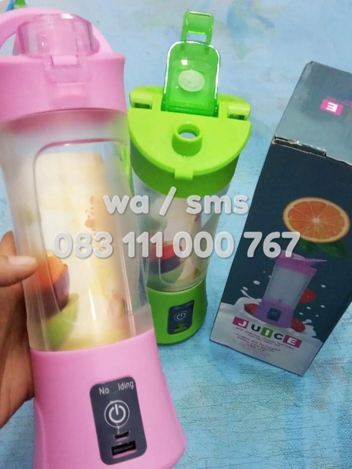 Usb blender juicer rechargeable portable jus buah take n shake