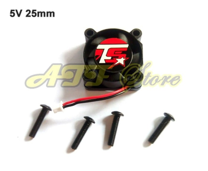 Jual mainan anak Trackstar Cooling Fan 5 Volt 25mm for RC Car ESC - Jakarta  Barat - jkt-corner | Tokopedia