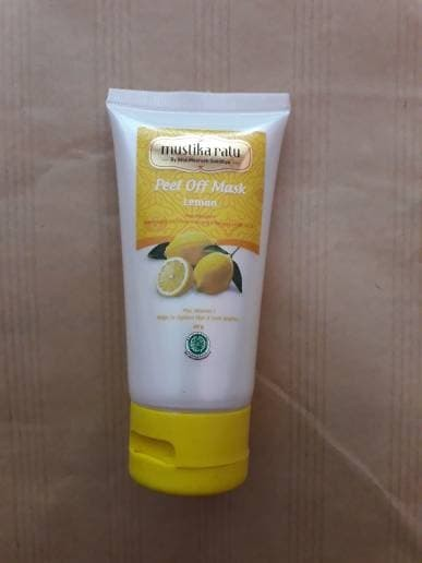 Mustika Ratu Peel Off Mask Lemon 60gr