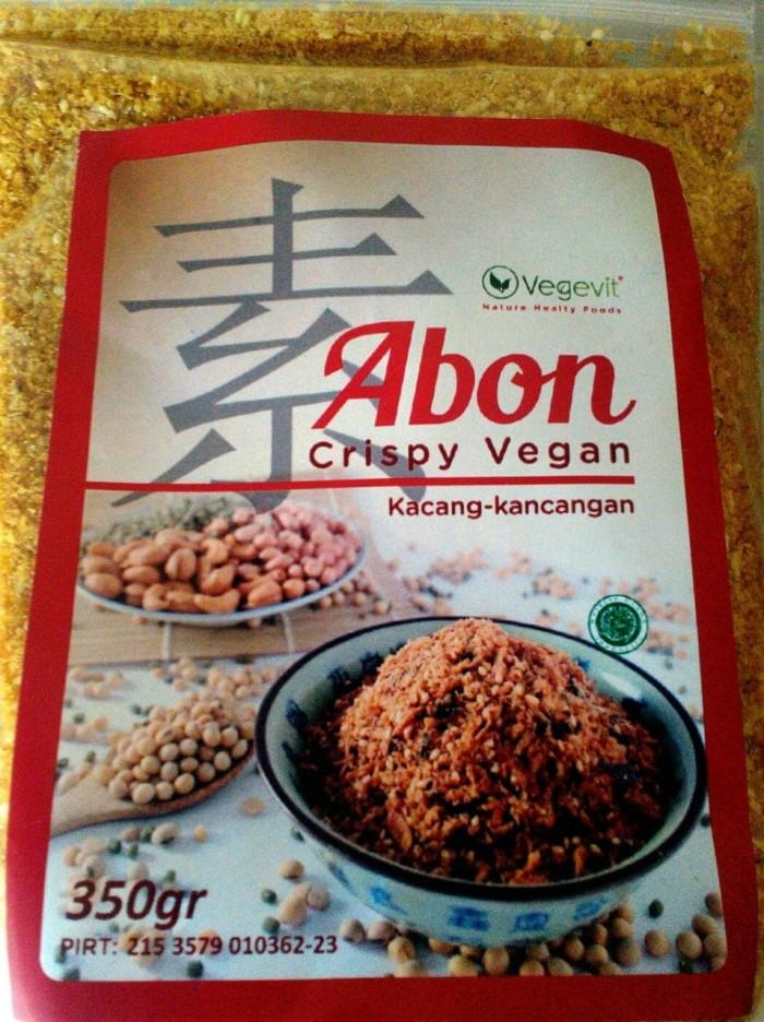 harga Abon crispy vegan/abon kacang - kacangan - vegevit Tokopedia.com