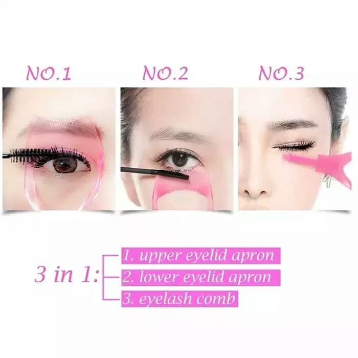 Alat Bantu Pakai Maskara Helper Mascara Eye Bulu mata Make up Tool