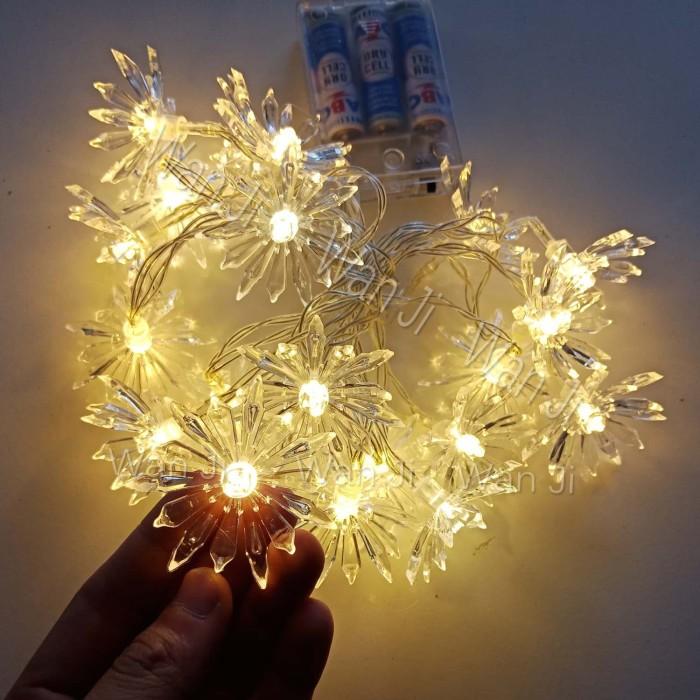 harga Ln03 lampu natal bunga | aksesoris christmas | hiasan pohon natal Tokopedia.com
