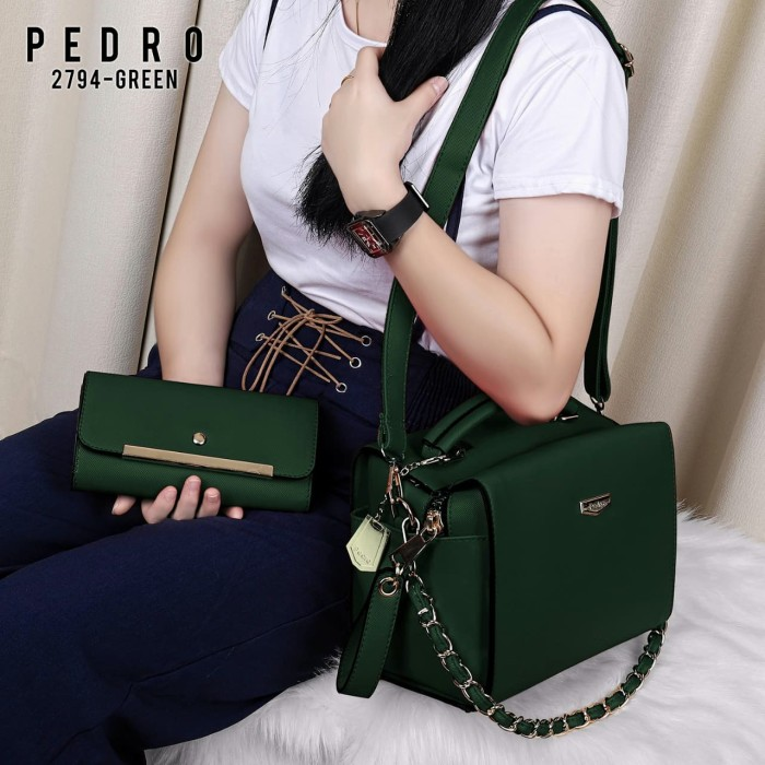 Home  Tas Wanita PEDRO BAG 2in1 Set Dompet Pedro Gashina 2794 Semipremium 6b099866ca