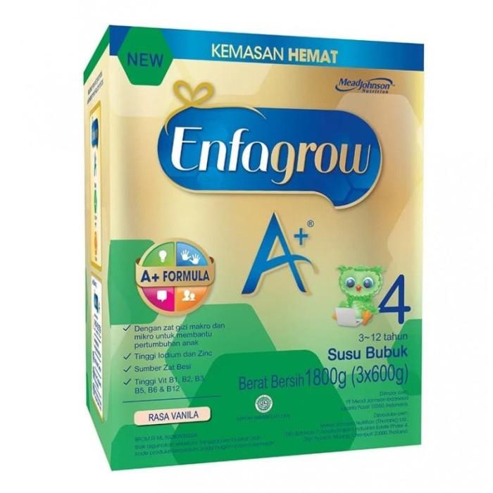 harga Enfagrow a+4 vanila 1800gram Tokopedia.com