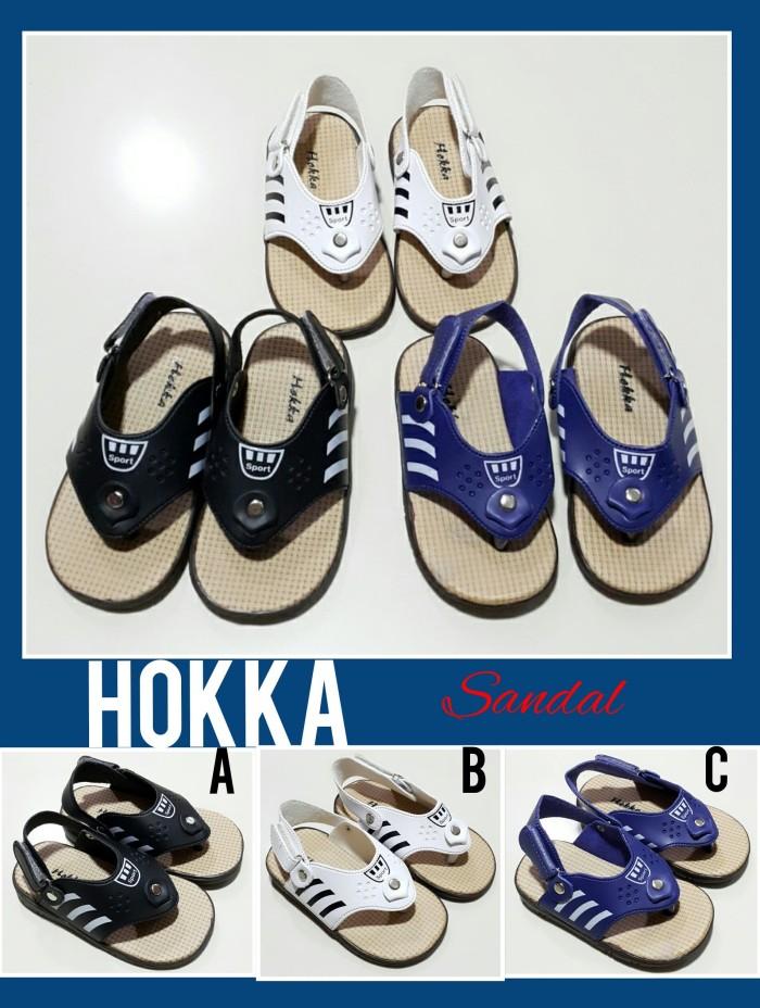 harga Sepatu sandal anak anak jepit hokka shoes Tokopedia.com