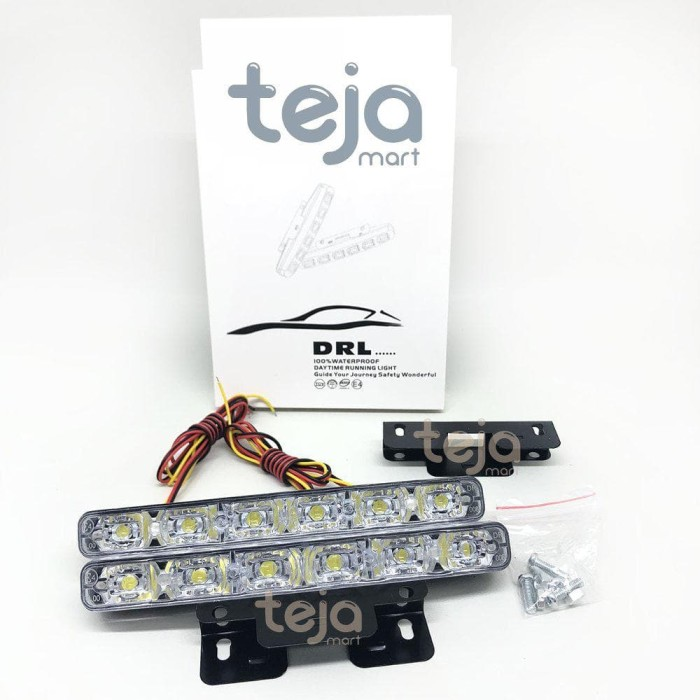 Best SEPASANG LAMPU LED DRL 6 TITIK 2IN1 SEIN SEN WATERPROOF SENJA