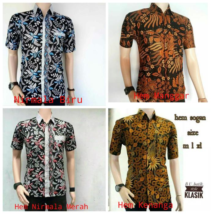 Jual Kemeja Batik Pekalongan Pria Kemeja Batik Eksklusif Baju Batik ... 87cb1eeab2