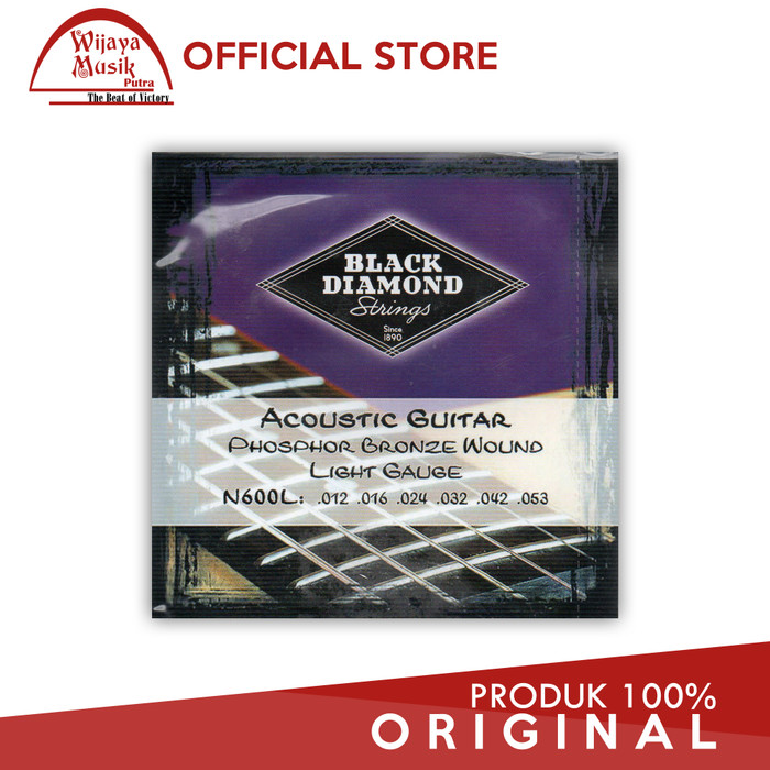 harga Black diamond senar / string gitar akustik n600l 12-53 set 6 string Tokopedia.com