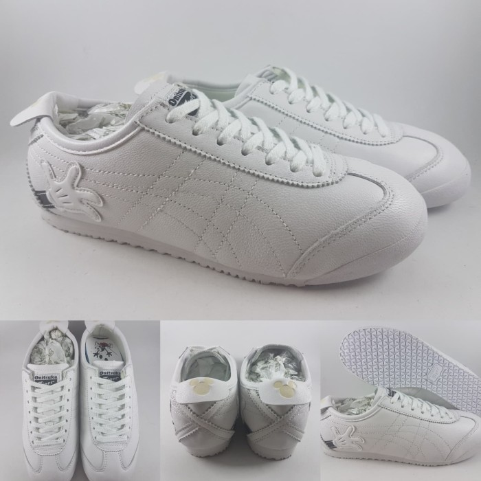 low priced ed52d 4c6e7 Jual Sepatu Kets Onitsuka Tiger Mexico 66 X Disney Minnie and Mickey White  - Kota Bandung - BladeMazter Corp.   Tokopedia