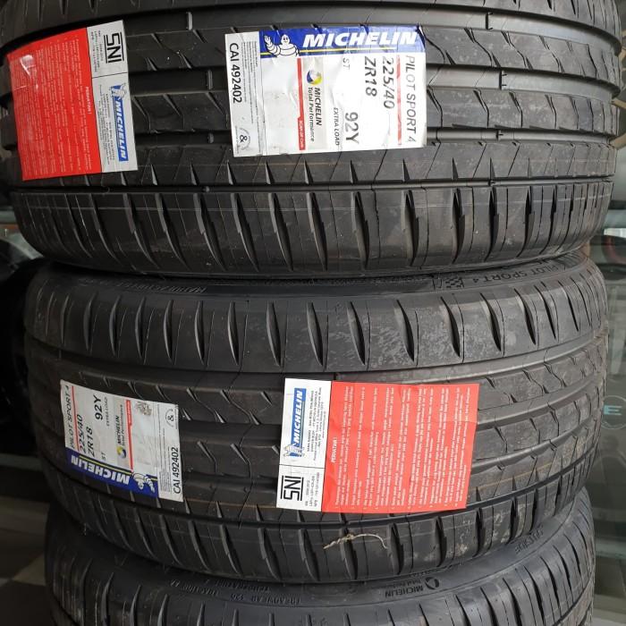 Michelin Pilot Sport >> Jual Ban Michelin Pilot Sport 4 225 40 R18 Jakarta Pusat Roda Mas Tokopedia