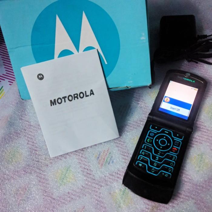 Foto Produk MOTOROLA RAZR V3 LEGEND HP HANDPHONE MINI FLIP KARTU JADUL NOKIA ANAK dari SyukronPro