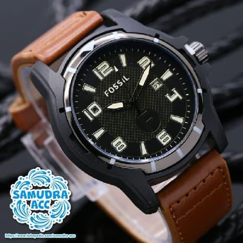 Jam Tangan Pria Fosil Date Leather Brown - Daftar Harga Terlengkap ... d36640ff1d