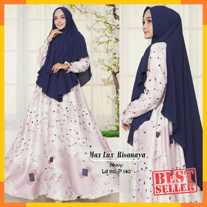 Jual - Afifahstore e Gamis Syari Muslim Wanita Busui Dress Muslimah