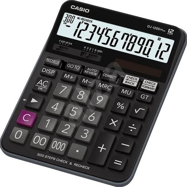 harga Kalkulator calculator casio dj 120 d plus check recheck Tokopedia.com