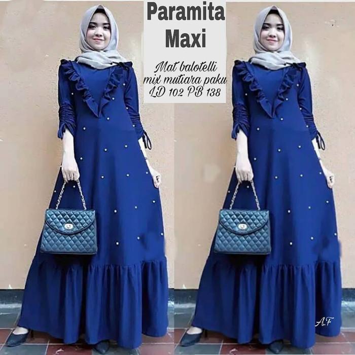 Jual PARAMITA MAXI DRESS WANITA MURAH - Muslimah Fesyen  3f04145743