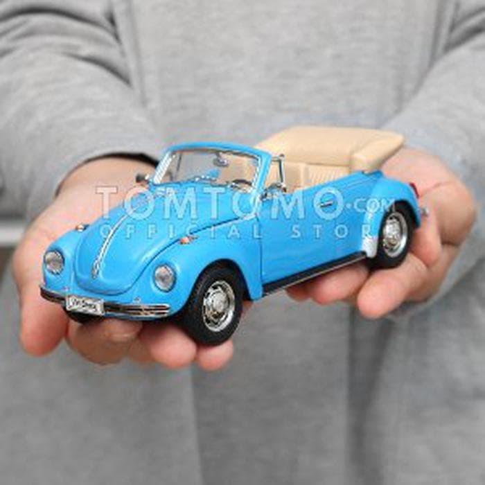 Jual Vw Beetle Cabriolet Diecast Miniatur Mobil Mobilan Volkswagen